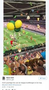 Tifosi Feyenoord lanciano peluche77