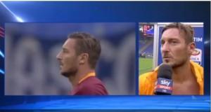 """Totti scherza con Del Piero: """"Oltre a essere un grande calciatore sei un grande giornalista"""""""