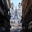 Bulgari restaura Trinità dei Monti. Ma quelli del Comune dicono 3 volte Fendi...VIDEO