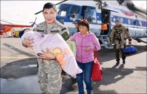 Bimbo di 3 anni sopravvive 3 giorni nella taiga siberiana con una barretta di cioccolato