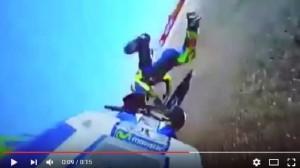 YOUTUBE Valentino Rossi, caduta a Aragon durante le prove libere
