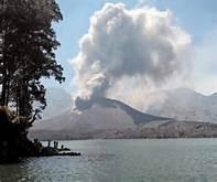 Il vulcano Barujari