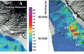 """Sei nuovi vulcani sottomarini davanti a Napoli<br /> Oltre a quelli """"noti"""", scoperti crateri sconosciuti"""