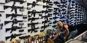 Un negozio di armi negli Usa