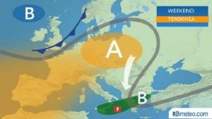 Guarda la versione ingrandita di Previsioni meteo 24 e 25 settembre 2016: sole, qualche nuvola, piogge in Sicilia (foto 3B meteo)