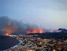 L' incendio a Xabia