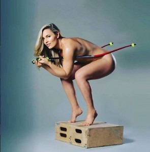 Lindsey Vonn nuda su Instagram promuove il suo libro FOTO