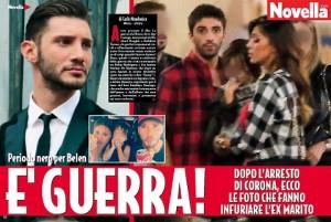 Stefano De Martino, rabbia con Belen per foto di Santiago con Andrea Iannone