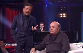 Lino Banfi risentito con Chiambretti per interruzioni a Matrix