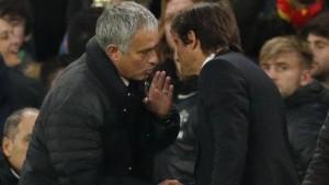 """Mourinho contro Antonio Conte: """"Ci hai umiliato. Non si esulta così sul 4-0"""""""