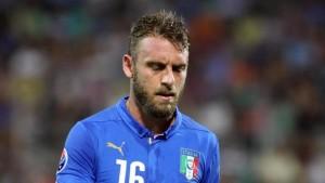 Italia-Spagna formazioni: De Rossi-Florenzi a centrocampo, Pellè in attacco