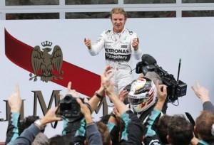 F1, Gp Giappone: Rosberg in pole, terza Ferrari Raikkonen