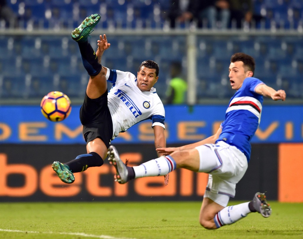 Sampdoria - Inter 1-0 foto Ansa