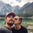 Ambra Angioini in piazza di Spagna col nuovo fidanzato Lorenzo Quaglia