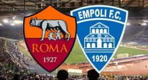 empoli-roma streaming