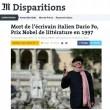"""Dario Fo, Grillo: """"Sarai sempre con noi""""5"""