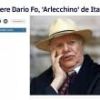 """Dario Fo, Grillo: """"Sarai sempre con noi""""27"""