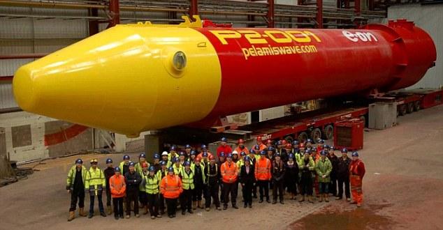 Energia da onde marine, brevetto dispositivo rubato in Scozia