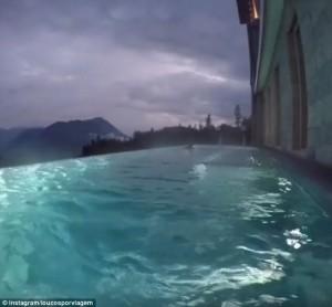 Infinity, la piscina di lusso costruita in mezzo alle Alpi svizzere6