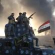 Isis brucia pozzi petrolio a Mosul3