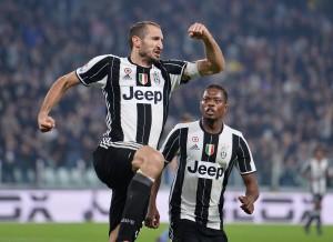 Juventus-Sampdoria 4-1. Video gol highlights, foto e pagelle. Chiellini doppietta