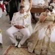 Matrimonio rom dura 4 giorni: sposa con abito da 200mila euro2