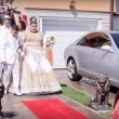 Matrimonio rom dura 4 giorni: sposa con abito da 200mila euro3