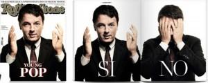 "Guarda la versione ingrandita di Matteo Renzi su Rolling Stone: ""The Young pop"" FOTO"