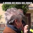 Nonna bolognese con Le Iene porta tortellini a pompieri Amatrice8
