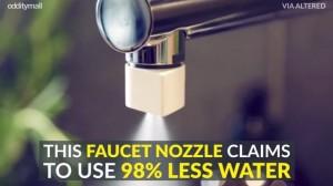 Guarda la versione ingrandita di VIDEO YOUTUBE Altered:Nozzle, il rubinetto che fa risparmiare il 98% di acqua
