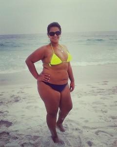 Guarda la versione ingrandita di Raina Trindade prima della dieta e dell'intervento di chirurgia gastrica