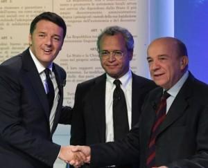 "Referendum, Zagrebelsky: ""Rischio oligarchia"". Renzi: ""Offende gli italiani"""