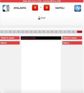 Atalanta-Napoli diretta live. Formazioni ufficiali dopo le ore 14