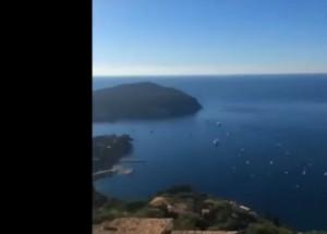 Guarda la versione ingrandita di YouTube Mario Balotelli mostra la vista dalla sua casa di Nizza