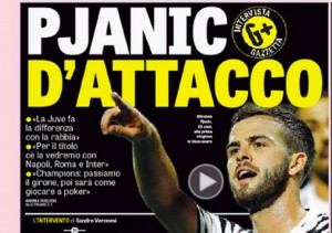 """Pjanic d' attacco: """"La Juve fa la differenza con la rabbia. Champions come il poker"""""""