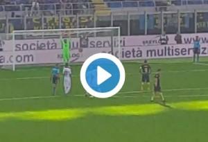 VIDEO Mauro Icardi rigore fallito in Inter-Cagliari durante contestazione