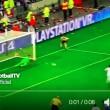 Lione-Juventus, Buffon ha parato il rigore a Lacazette