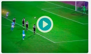 Lorenzo Insigne video rigore fallito in Napoli-Besiktas