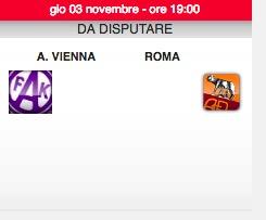 Roma-Austria Vienna diretta live. Formazioni ufficiali dopo le ore