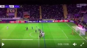 Pjanic video gol annullato in Milan-Juventus: ma era regolare