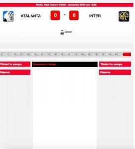 Atalanta-Inter diretta live. Formazioni ufficiali dopo le 14