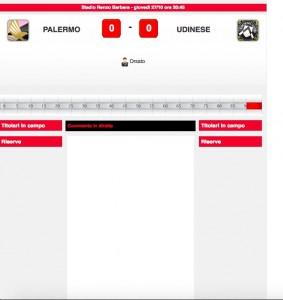 Palermo-Udinese diretta live. Formazioni ufficiali in arrivo