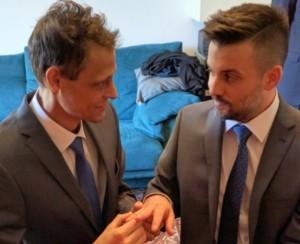 Michael Peer e Kevin Hofer sposi. Ma dopo quattro giorni un tumore...