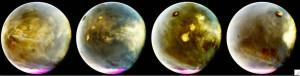 Marte avvolto da nubi fluorescenti: prime immagini nell'ultravioletto