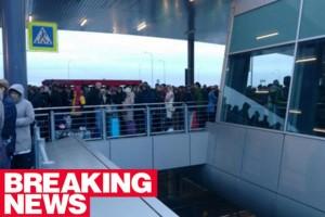 Allarme bomba: evacuato aeroporto San PietroBurgo