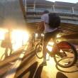 Tamponamento tra ciclisti sulla autostrada per le bici1