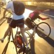 Tamponamento tra ciclisti sulla autostrada per le bici4