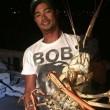 Uragano porta aragosta mostro da 6 chili nelle Bermuda2