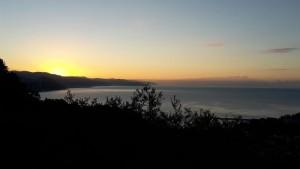 Maltempo in pausa, sorge il sole, sul Golfo di Genova non c'è una nuvola