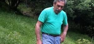 Albano Crocco ucciso, le foto del nipote col machete nei boschi di Lumarzo